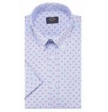 Paul&Shark E19p3137 100 korte mouw shirt blauw
