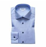 Eton Overhemd licht slim fit blauw