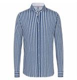 Desoto Lange mouw shirt gestreept blauw