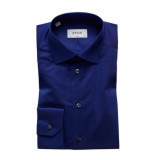 Eton Overhemd navy slim fit blauw