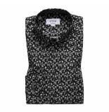 Eton Overhemd contemporary fit zwart