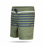 Pierre Cardin Swim short stripe groen