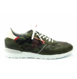 New Zealand Auckland Kurow camo. sneaker groen