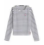 Scotch R'Belle Scotch r'belle t-shirt 148030 wit