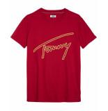 Tommy Hilfiger T-shirt dw0dw05719 rood