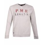 PME Legend Pullover pts188531 grijs