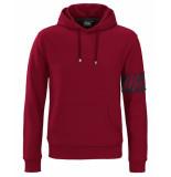 Milestone Pullover captain hoodie rood