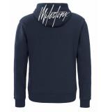 Milestone Pullover captain hoodie blauw