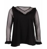 Zoey T-shirt 182-4347 june zwart