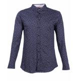 Desoto Overhemd 90408-3 blauw