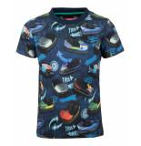 Someone T-shirt sb02.191.17551 blauw