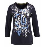 Gerry Weber T-shirt 870069-44022 blauw