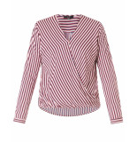 Yesta By Xtwo + Blouse a30638 rood