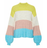Y.A.S Pullover 26013458 yasclock geel