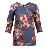 Ned T-shirt tp029-02 celian blauw