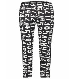 Penn & Ink Pantalon s19f511 zwart