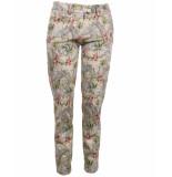 Mason's Mason's pantalon ce25s17 newyorkslim groen