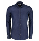 New in Town Overhemd 8921034 blauw