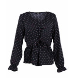 Only Blouse 15171903 onlvicky blauw