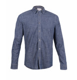 Chasin' Overhemd 6111400009 blauw
