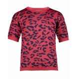 Geisha Pullover 94015k-10 rood