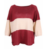 Sylver Pullover 646-202 rood