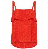 ICHI T-shirt 20108789 rood