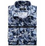 Olymp Dress hemd 854834 blauw