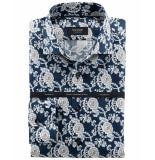 Olymp Dress hemd 856534 blauw