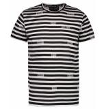 Cars T-shirt kids tigo ts stripe grijs