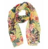 Laine Bonnet Shawl 9139-8 geel