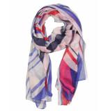 Laine Bonnet Shawl 9610-560 blauw