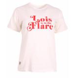 Lois T-shirt dymphe 5714 wit