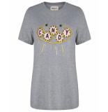 Wanderlust T-shirt w911104 candy grijs