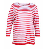 In Shape Pullover 190114a rood