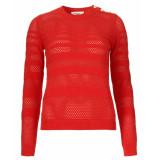 Modstrom Sweatshirt 54151 nadelle rood