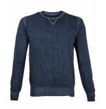 BoB Pullover got unica blauw