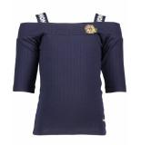 NoNo T-shirt n902-5404 blauw