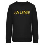 My Jewellery Sweatshirt mj00819 jaune zwart