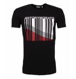 Antony Morato T-shirt mmks01471-fa120001 zwart