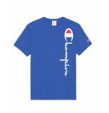 Champion T-shirt 212975 blauw