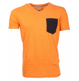 Chasin' T-shirt 5212400004 oranje