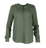 Another Label Blouse a77/219101 debs khaki