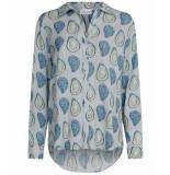 Fabienne Chapot Blouse lily lou blouse blauw