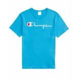 Champion T-shirt 210972 blauw