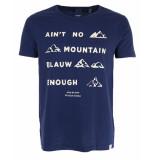 Scotch & Soda T-shirt 148203 blauw