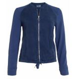 Anna van Toor Bomberjack 42b01-02231220/1 blauw