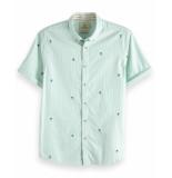 Scotch & Soda T-shirt 148916 blauw