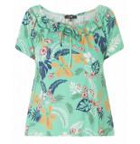 Yesta By Xtwo + T-shirt a31486 groen