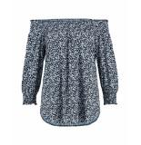 Studio Anneloes Shirt 02918 scarlett small fl blauw